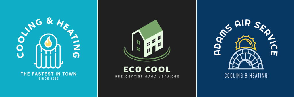 Heating And Cooling Logo Maker