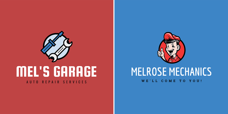 Mechanic Logo Maker With Illustrated Graphics