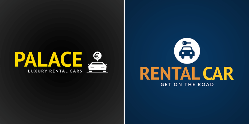 Rental Car Logo Maker With Car Graphics