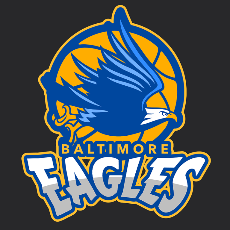 Basketball Logo Maker With Eagle Icon