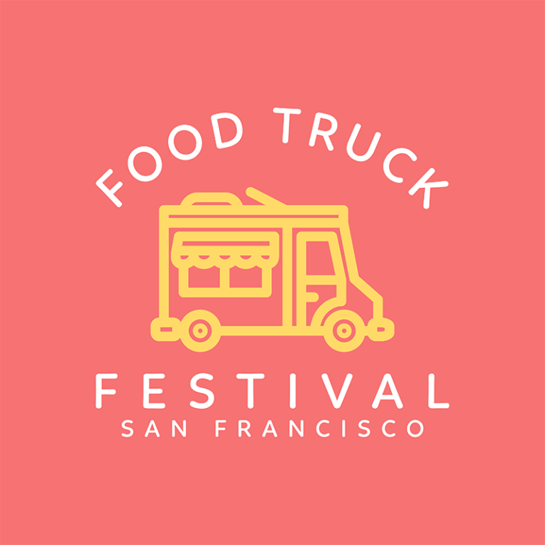 Food Truck Logo Maker For Food Festivals