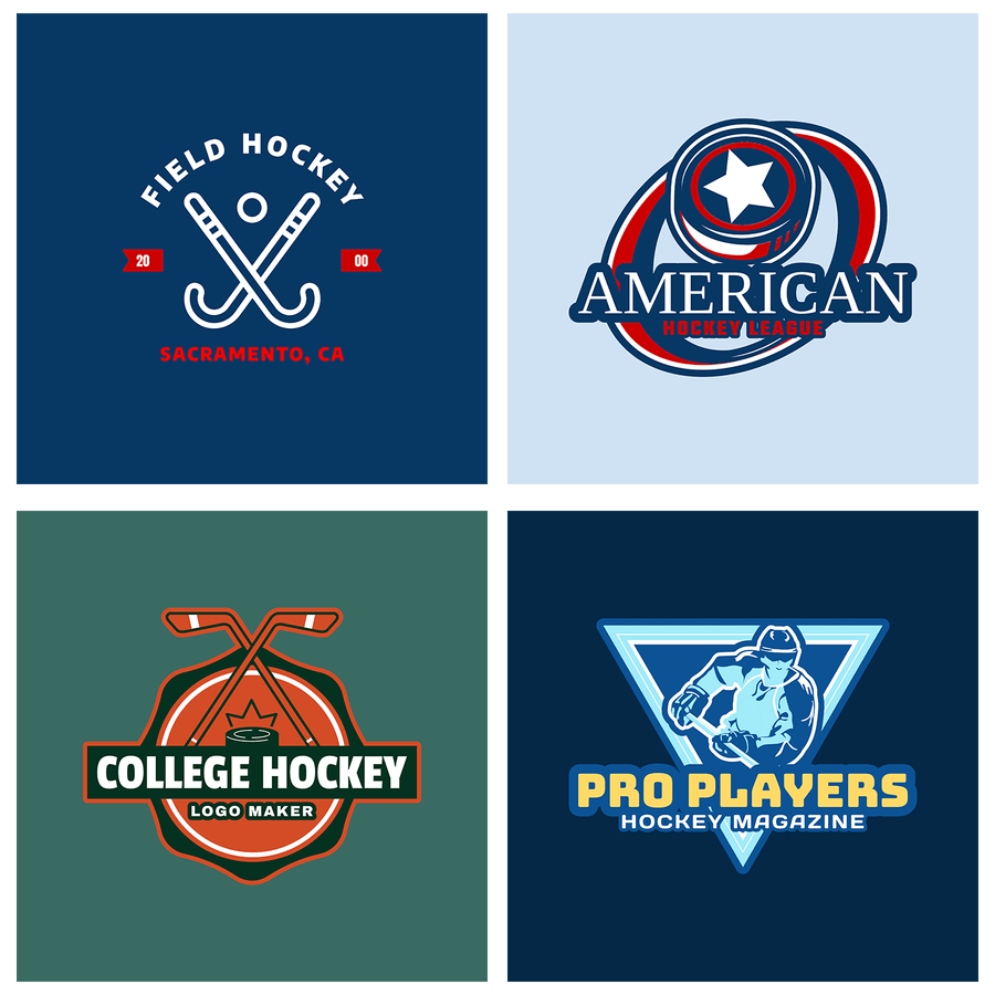 Hockey Logo Templates For Custom Hockey Logos