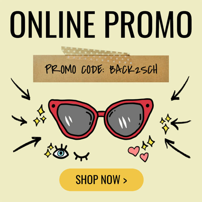 Online Banner Maker For Discount Eyewear