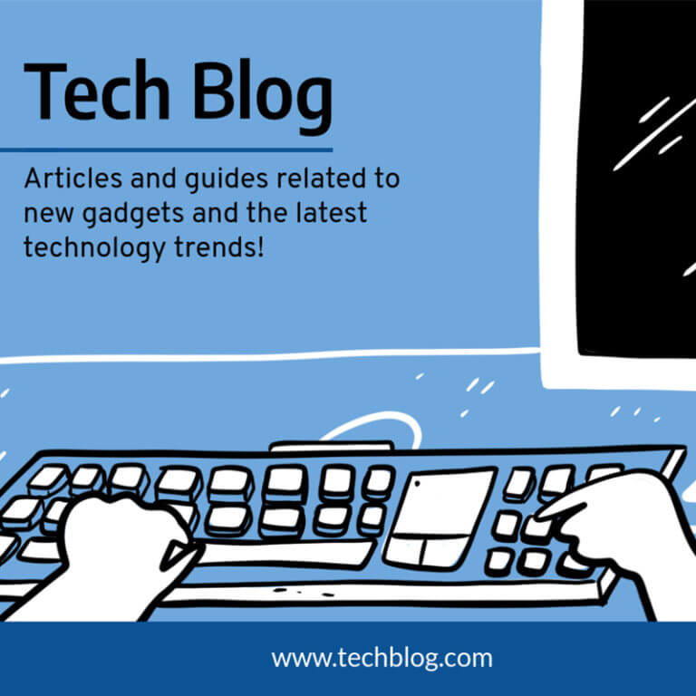Tech Blog Post Maker For Facebook