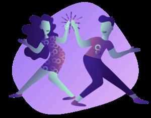 Dancing Blob