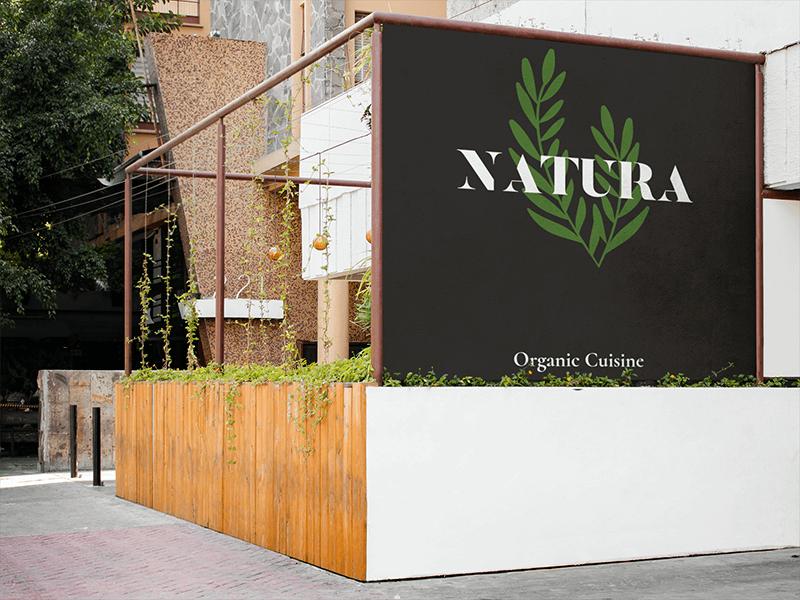 Organic Restaurant Logo Maker