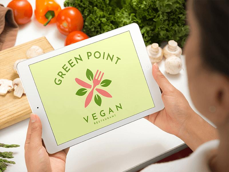 Vegan App Logo