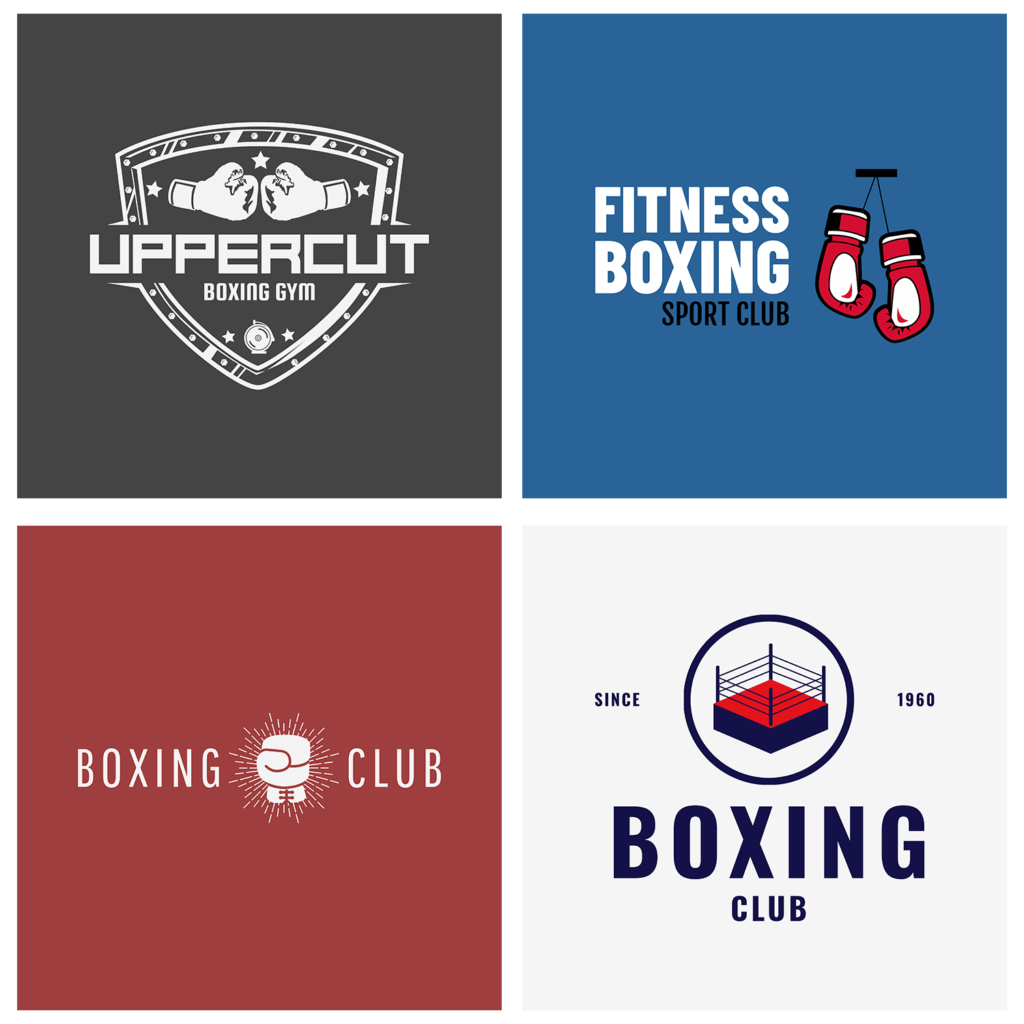 set your gym apart with a quality boxing logo