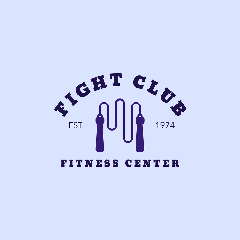 Boxing Logo Maker For A Box Fit Gym