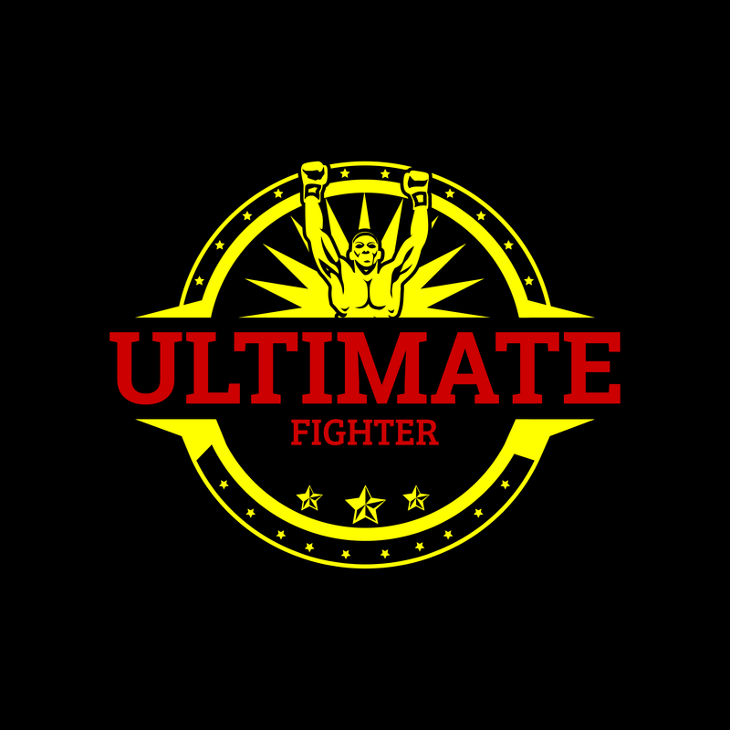 Ultimate Fighter Boxing Logo Generator