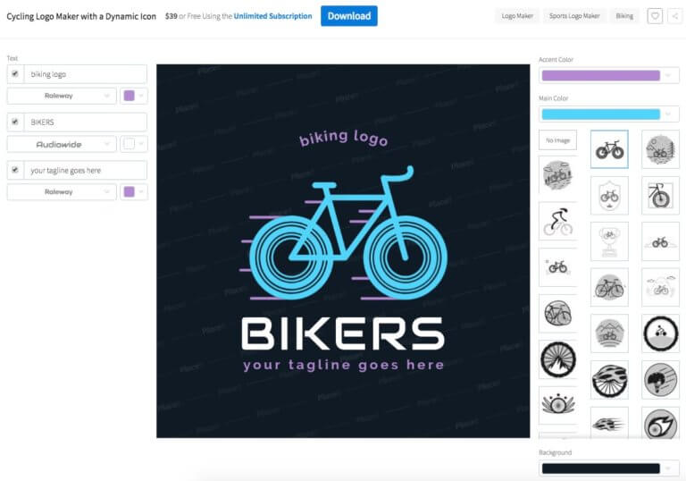 Bike Logo Maker