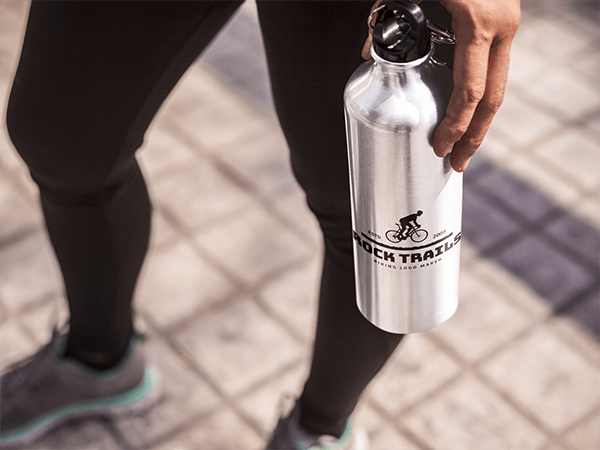 Biking Bottle Logo