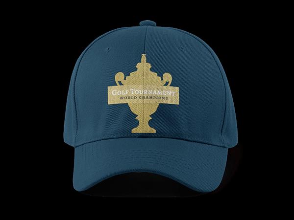 Golf Hat Mockup