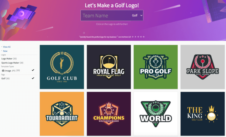 Golf Logo Maker