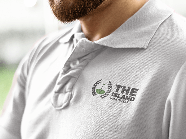 Golf Polo Shirt Mockup