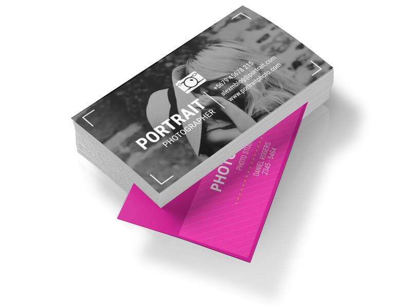 Photographer Businesscard Mockup