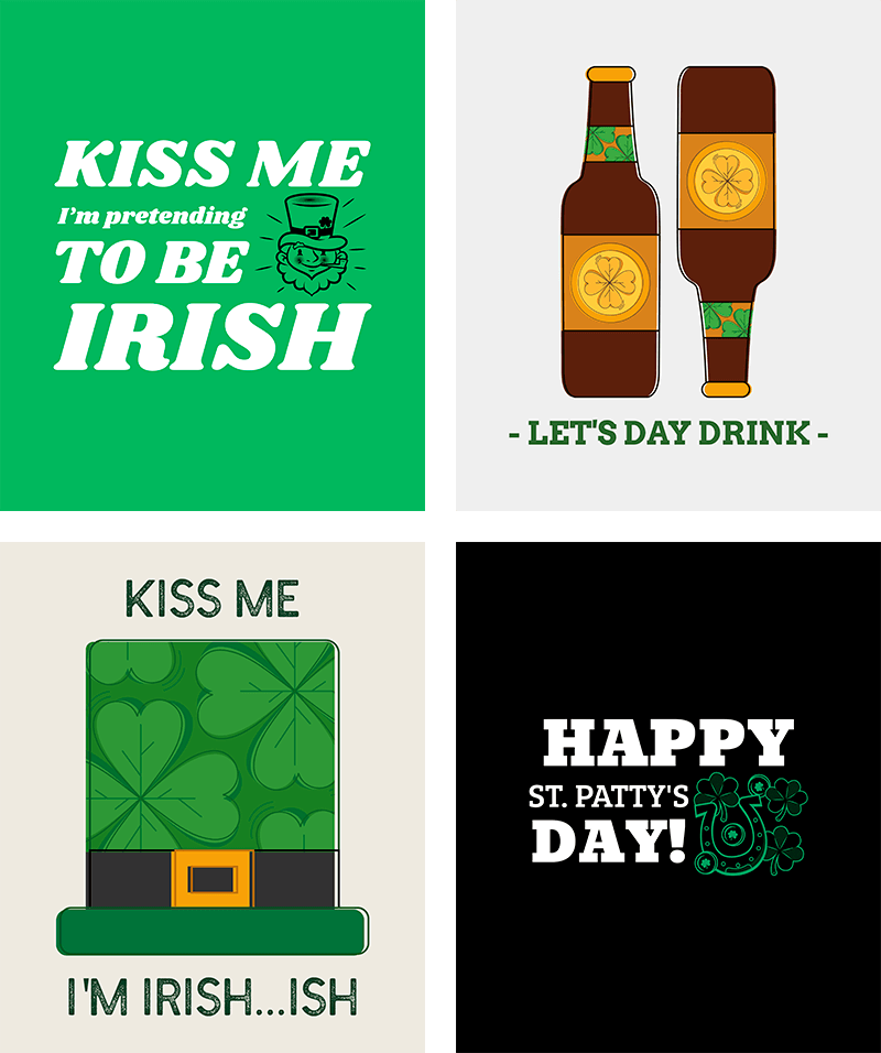 Designs of St. Patrick's Day T-Shirts