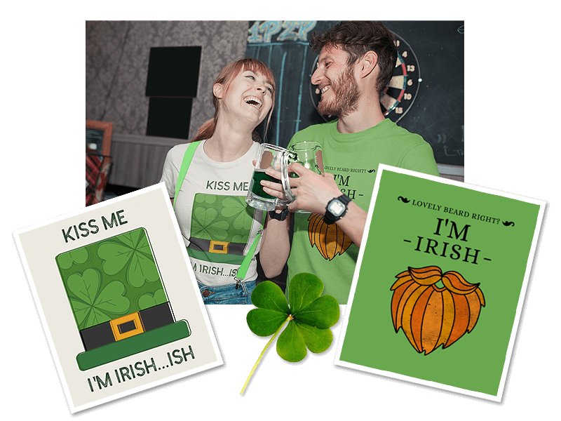 St. Patrick's Day T-Shirts Mockups