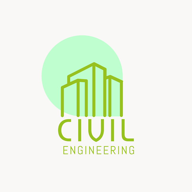 Civil Engineering Logo Lines