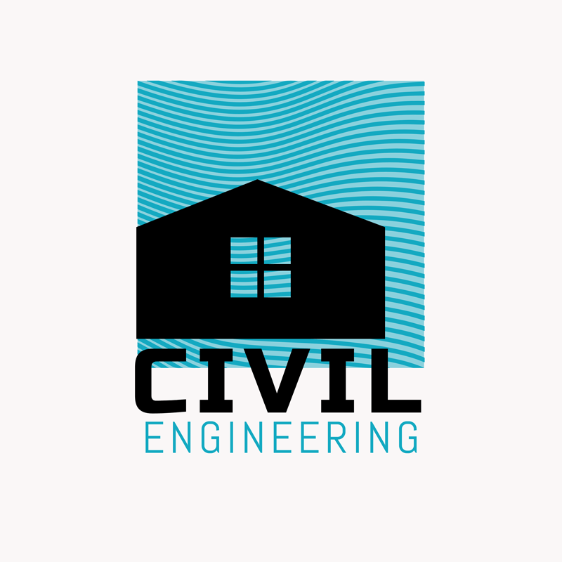 Civil Engineering Logo Solid