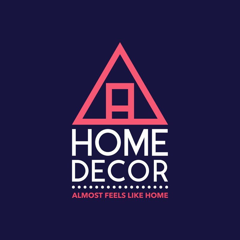 Home Decor Logo Abstract