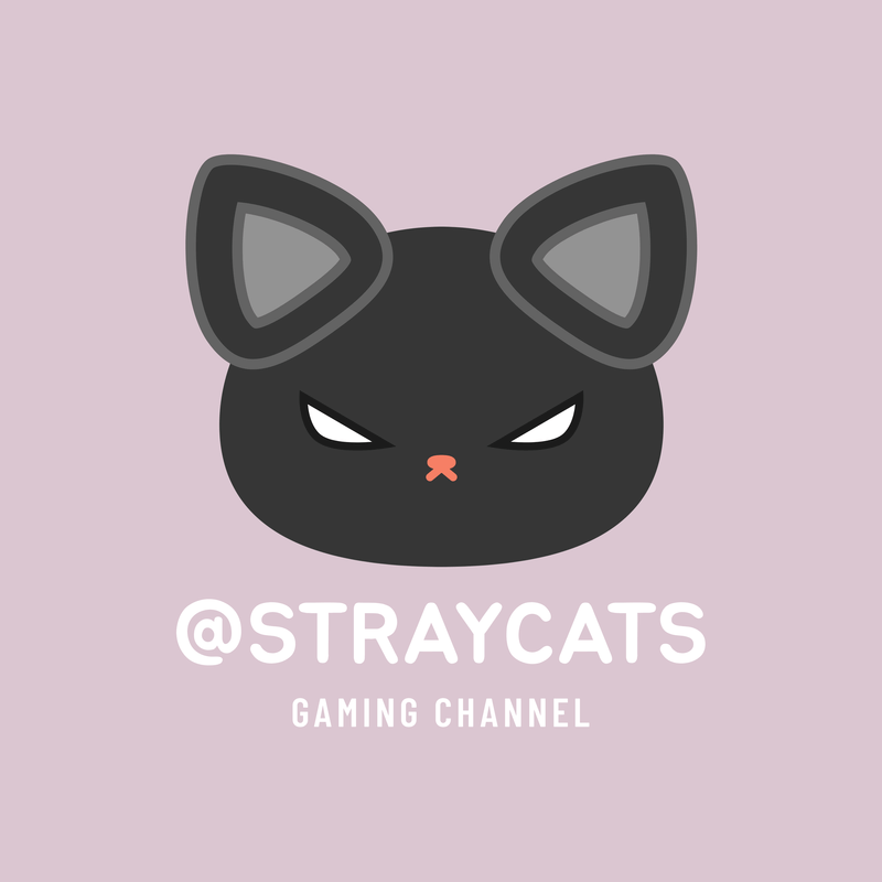 Gaming Channel Avatar Logo Maker With A Black Cat