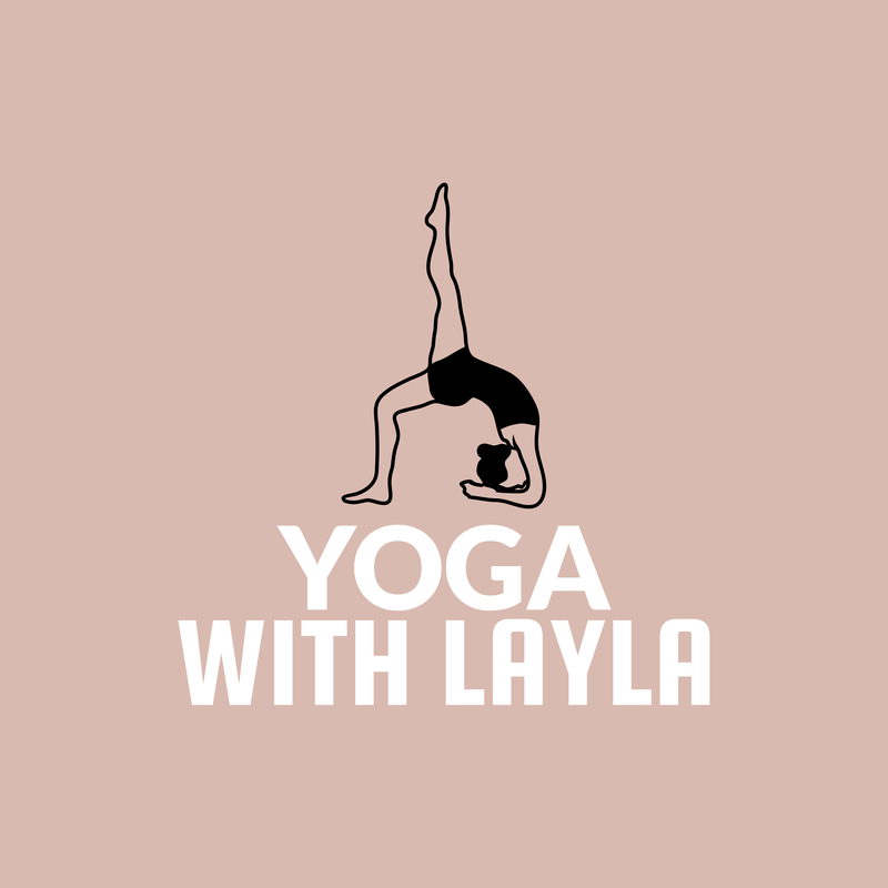 Online Logo Maker For A Yoga Studio Green Theme