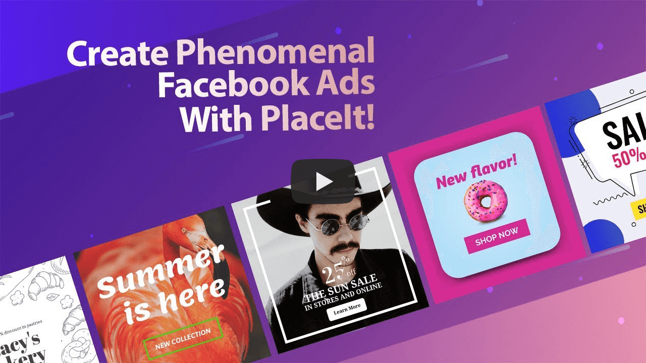 Facebook Ad Templates | Create a Facebook Ad | Placeit