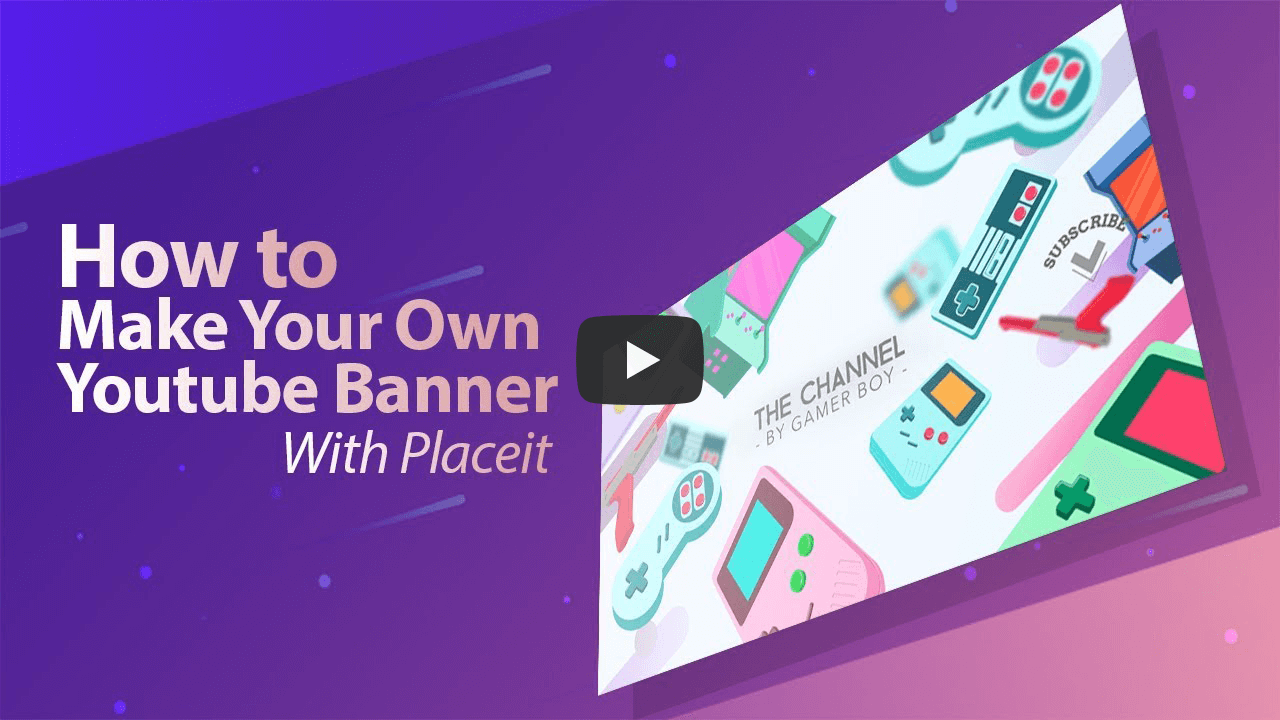 YouTube Banner Maker | Brand Your Channel | Placeit