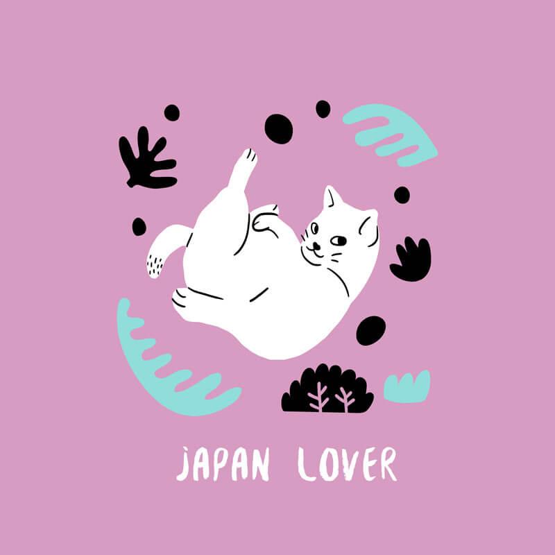 Plantilla De Diseño De Un Gato