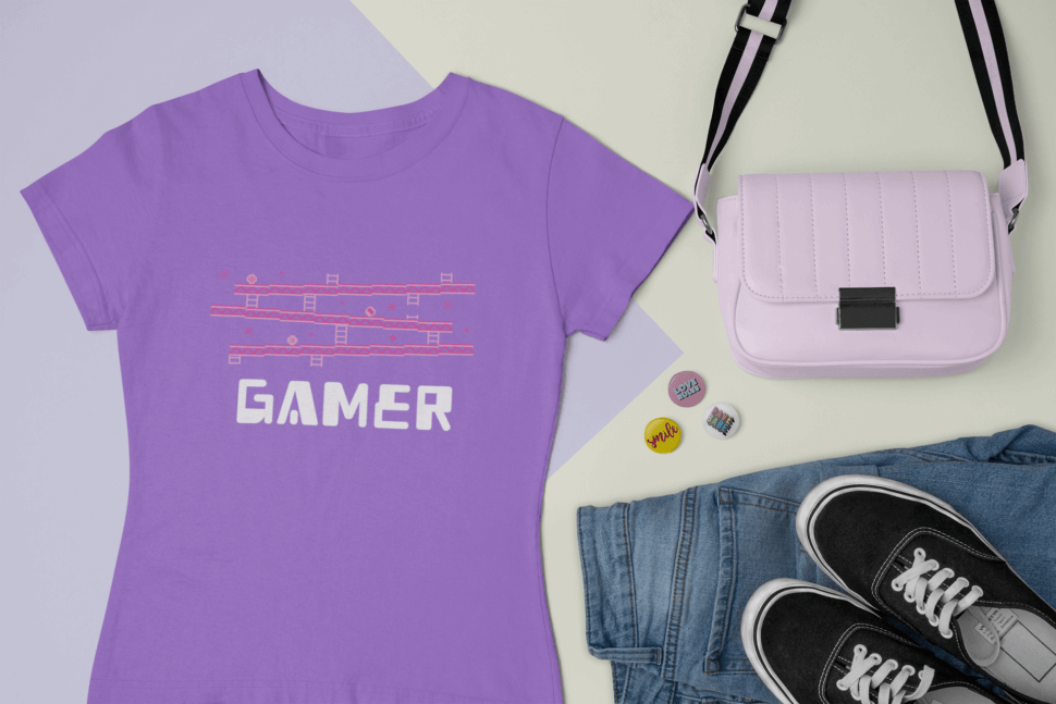 Outfit Mockup Of A T Shirt Surrounded By Trendy Accessories 26394 (1)