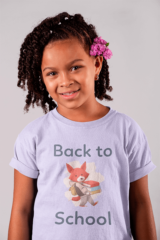 T Shirt Mockup Of A Smiling Child 22073
