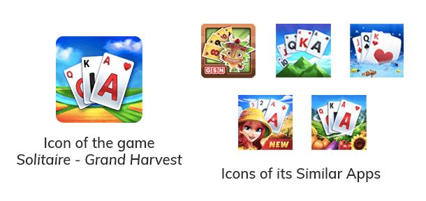 6 Similar Apps Logos