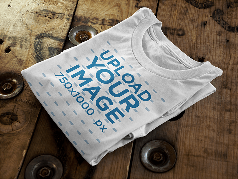 T-Shirt Mockups to Display Your Designs