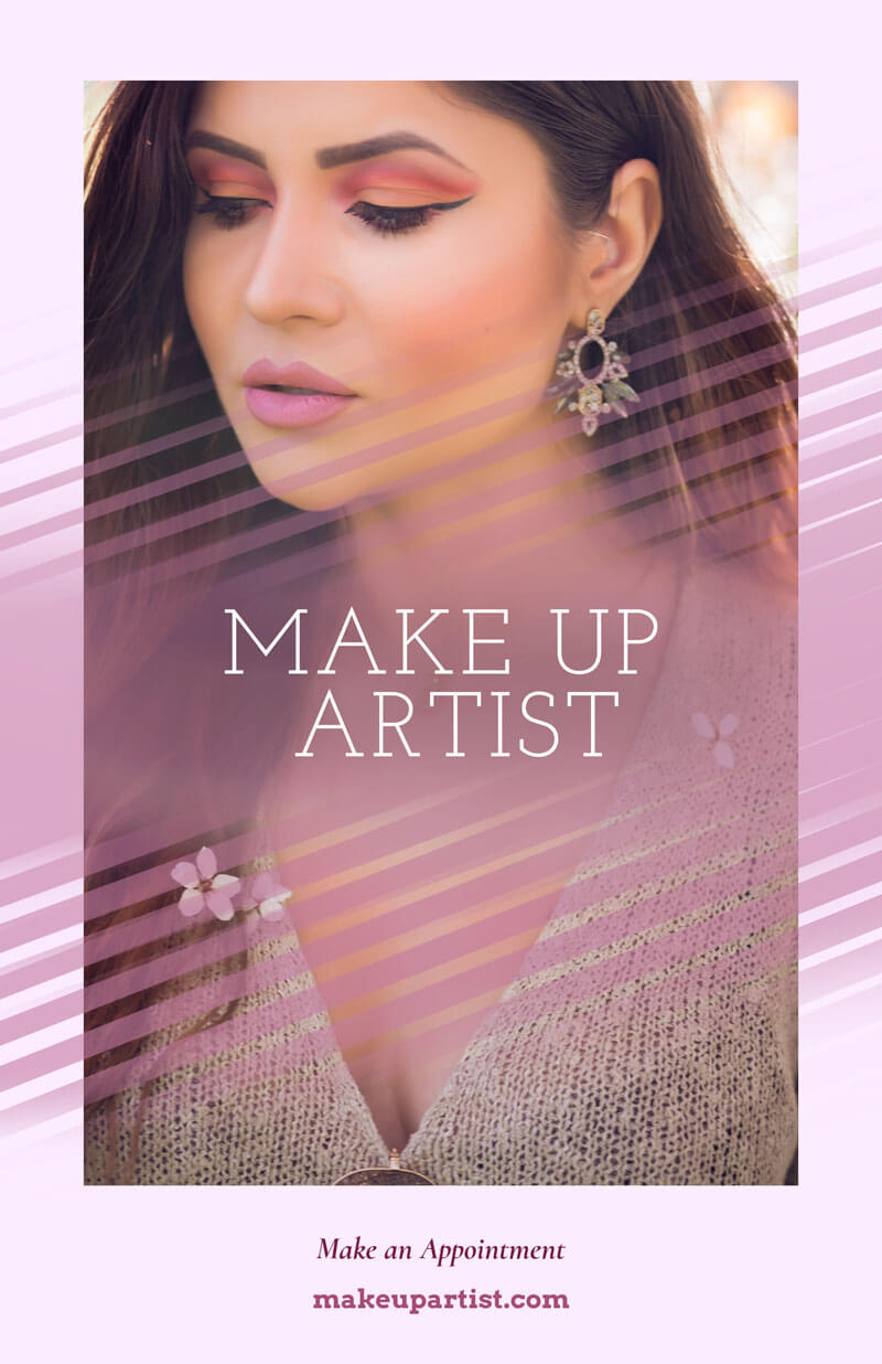 Online Flyer Maker For Makeup