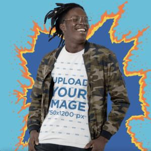 T Shirt Video Mockup