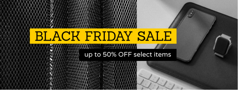 Black Friday Facebook Cover Maker With Electronic Devices