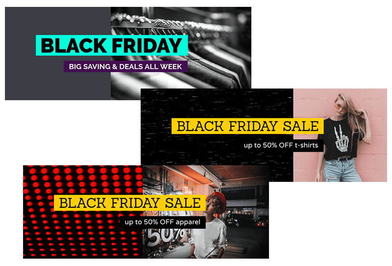 Black Friday Header Templates