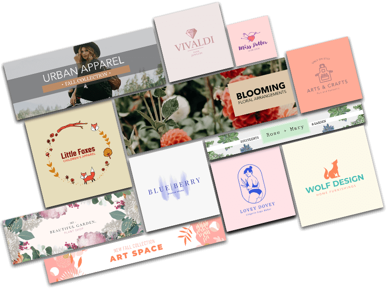 Branding Assets For An Etsy Shop