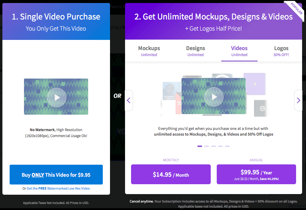 Buy Your Placeit Video