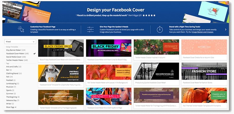 Facebook Cover Maker
