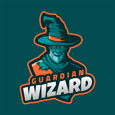 Fortnite Style Gaming Logo Maker Featuring An Ancient Wizard