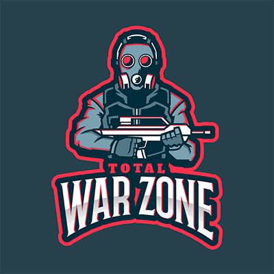 Rainbow Six Siege Themed Logo Design Maker Featuring A Masked Soldier