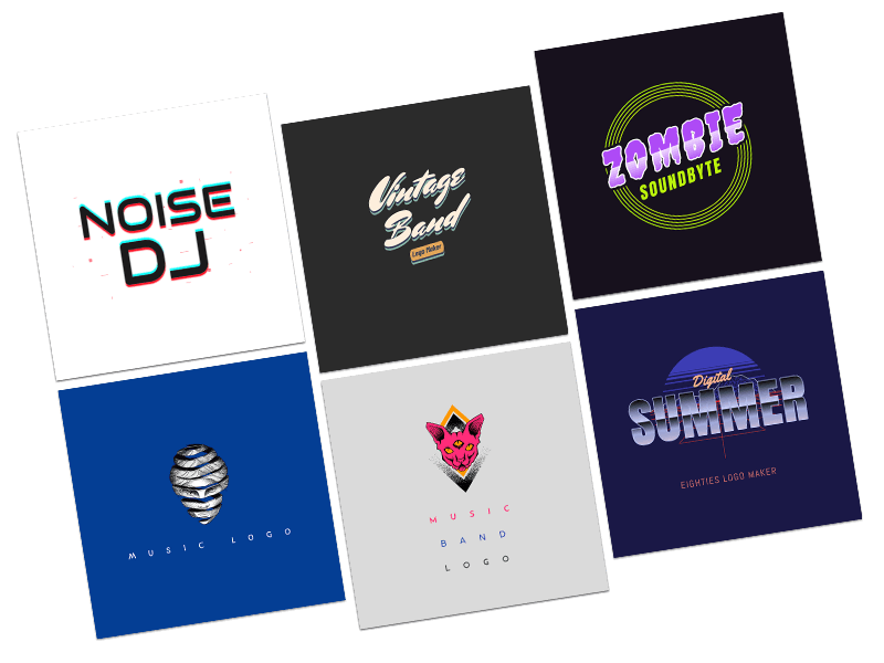 Band Logo Maker Templates
