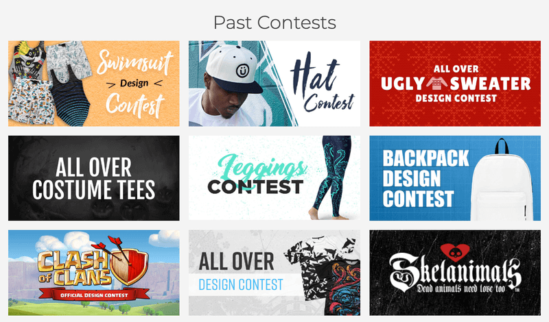 Design By Humans Design Contests