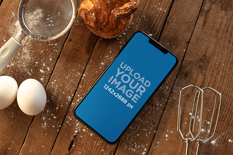Cooking Iphone Mockup