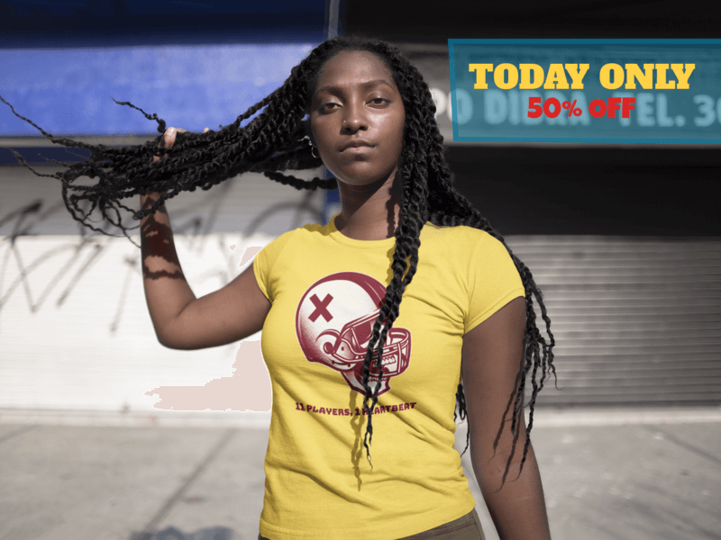 Facebook Ad Black Girl Playing With Dreadlocks Wearing A T Shirt