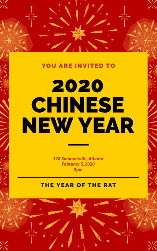 Flyer Maker To Celebrate The Chinese New Year