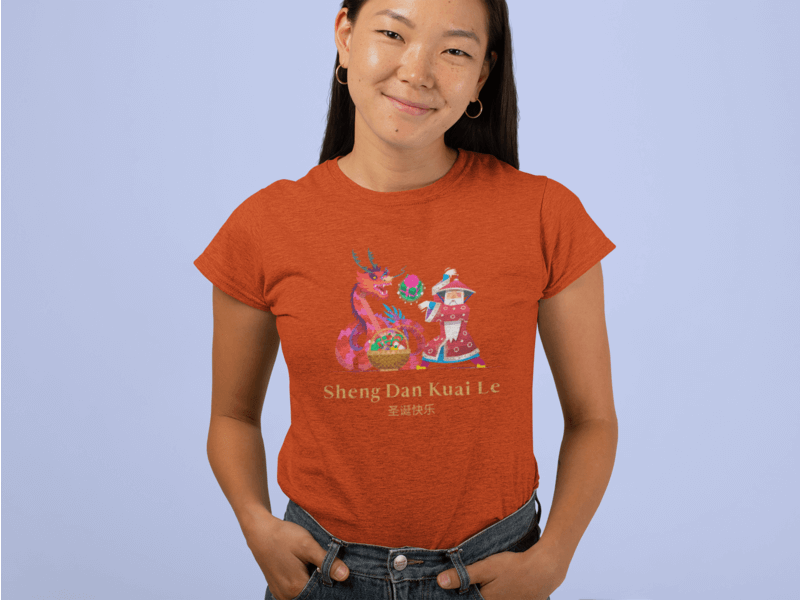Heather Tee Mockup Of A Woman Posing With Her Hands On Pockets