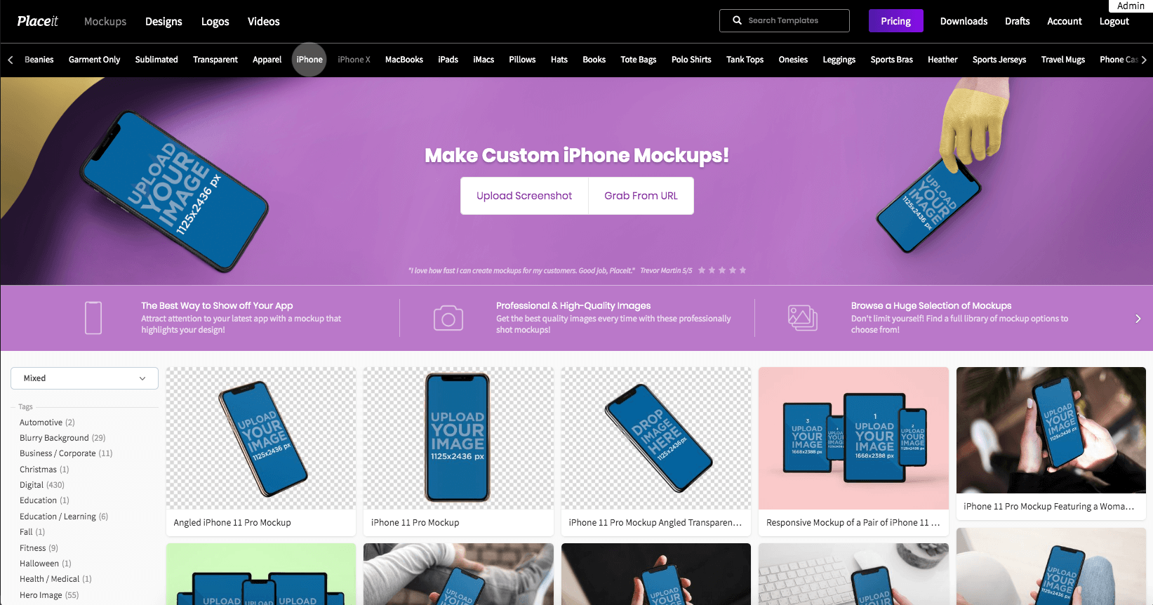 Iphone Mockups Librabry